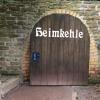 Hinter diesem Tor befindet sich der Eingang zur Höhle Heimkehle