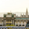In der Hofburg befindet sich der Amtssitz des Bundespräsidenten.