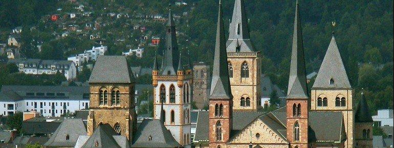 Der Dom in Trier.