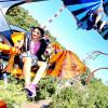 Höhenflüge, Überschläge und wilde Drehungen erwarten dich bei der Fahrattraktion SKY FLY.