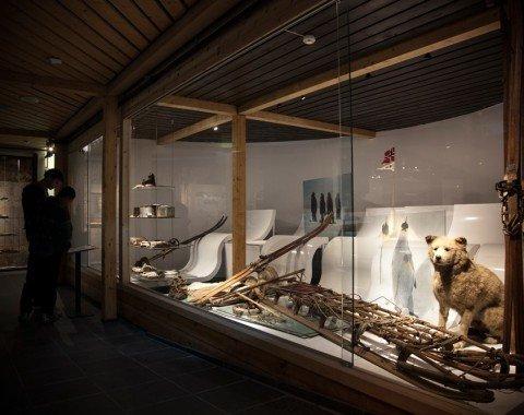 Ausstellungsraum im Skimuseum