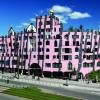 Hundertwasser hat bis kurz vor seinem Tod im Jahr 2000 an den Plänen des Magdeburger Hunderwasserhauses gearbeitet.