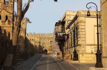 Alte Straße in Icheri Sheher