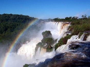 Die Iguazú-Fälle auf argentinischer Seite
