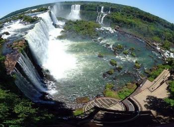Panorama der Wasserfälle