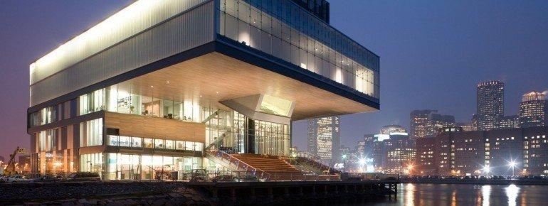Die Außenansicht des Gebäudes