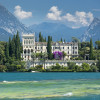 Die Villa im neugotisch-venezianischen Stil ist noch heute Wohnsitz der Familie Cavazza.