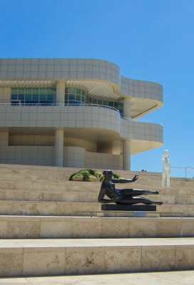 Das Getty Center wurde vom Architekten Richard Meier entworfen