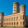 Das Jagdschloss Granitz südlich von Binz