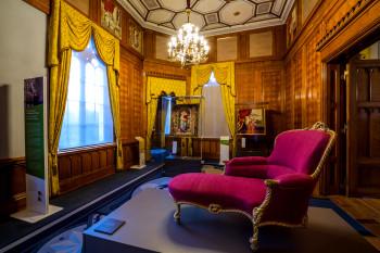 Das Schlossmuseum zeigt die Geschichte des Gebäudes.