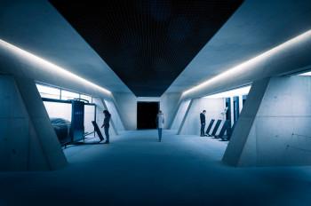 Das Ambiente erinnert an das Quartier des MI6 im Londoner Untergrund.