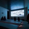Auch ein kleines Kino gibt es in der Erlebniswelt. im Screening Room wird die spektakuläre Verfolgungsjagd auf der Ötztaler Gletscherstraße gezeigt