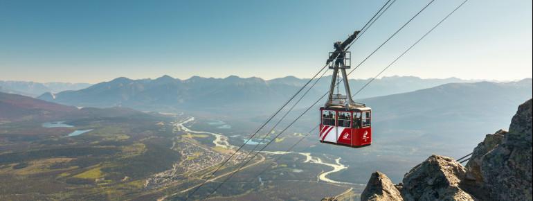 Die Jasper SkyTram ist die höchste Seilbahn in Kanada.