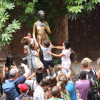 Sehr begehrt: Das Berühren von Julias Statue im Innenhof soll Glück bringen.