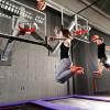 Man kann beim SlamJUMP sogar Basketball spielen.