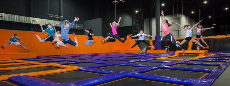 Beim FreeJUMP kannst du neue Sprungtechniken üben.