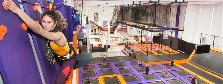 Der SkyNinja in bis zu acht Metern Höhe ist perfekt für Adrenalin-Junkies.