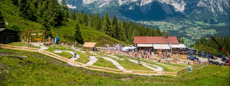 Der Junior Trails Bikespielpaltz auf der Reiteralm ist ein echtes Highlight für Kinder.