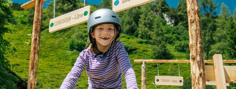 Auf dem Bikespielplatz auf der Reiteralm gibt es spannendes zu entdecken.