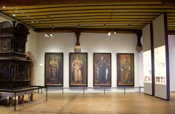 Die 2013 neu konzipierte Dauerausstellung vermittelt unter anderem Wissenswertes über die Rolle Nürnbergs im Spätmittelalter.