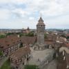 Von der mittelalterlichen Kaiserburg erhältst du einen guten Rundblick über die Altstadt von Nürnberg.