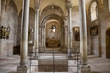 Die Kaiserkapelle entstand um 1200 und ist der älteste noch erhaltene Teil der Burganlage.