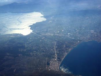 Luftaufnahme des Kanals
