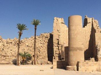 Die einstige Größe und Bedeutung des Tempelkomplexes lässt sich noch heute erahnen