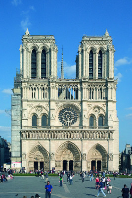 Die beiden Glockentürme von Notre Dame.