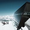 Das Gipfelrestaurant im Minergie-P Standard.