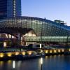 Das Klimahaus ist mit seinem walförmigen Bau in Bremerhaven nicht zu übersehen.
