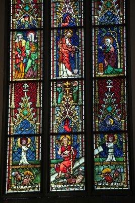 Ausschnitt Glasfenster