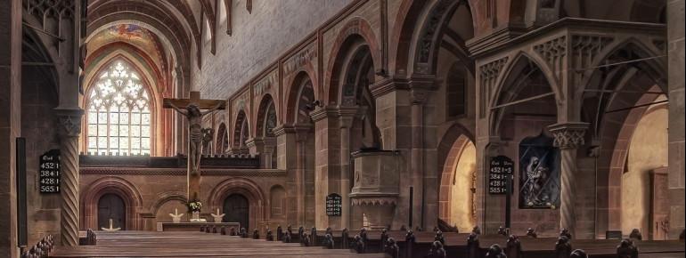 Die Klosterkirche von innen