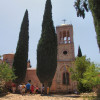Auf dem Gelände des Klosters