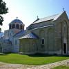 Das Kloster ist ein weltweit einzigartiger mittelalterlicher Bau.