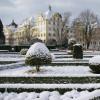 Die Anlage im Winter