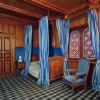 """Die Wohnräume im Erdgeschoss des Königshauses sind im Stil des """"Schweizerhauses"""" gehalten."""