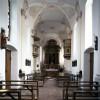 Blick in den Innenraum der Wallfahrtskirche St. Bartholomä.