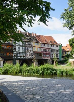 Die Erfurter Krämerbrücke