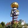 Der Kuchlbauer-Turm wurde im Hundertwasser-Stil erbaut