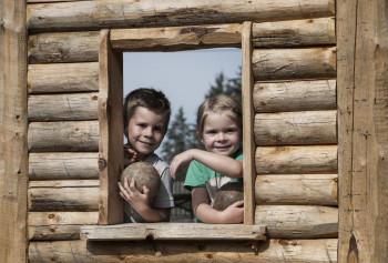 Spiel und Spaß am Kugelwald