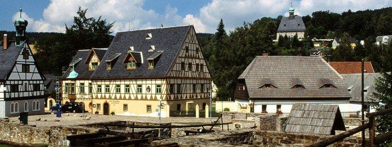Das Gelände der Saigerhütte