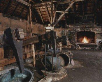 Innenansicht des Kupferhammers