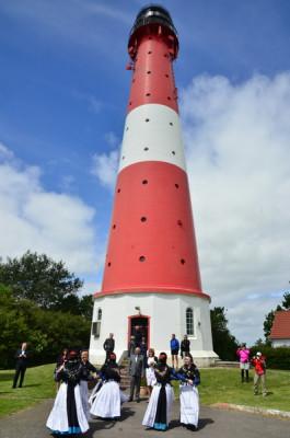 Im Laufe des Jahres finden auch kleine Feste am Leuchtturm statt.