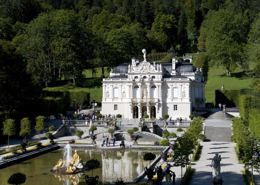 Schloss Linderhof Schlafzimmer | Schloss Linderhof Ausflugsziele Ettal