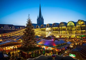 Den historischen Lübecker Weihnachtsmarkt gibt es seit 1648.