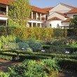 Der Garten der Römischen Herberge