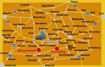 Lageplan des Märchenparks