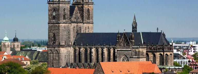 Der Dom St- Mauritius und St. Katharina ist der bedeutendste Sakralbau der östlichen Bundesländer.