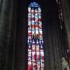 Beispiel für eines der ca. 20m hohen Fenster